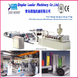 PET thermoforming and packaging sheet production line