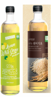 Vinegar series_Brown rice_ Lemon_White grape_