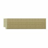 polystyrene picture frame moulding - 340 Line Silver