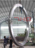 three row cylindrical roller slewing bearings used in harbour cranes