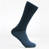 Men_s dress socks_ Peacock green block socks_Egyptian cotton