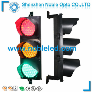 200mm ryg solar led traffic light from shenzhen noble opto co ltd