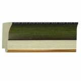 polystyrene picture frame moulding - 590 green