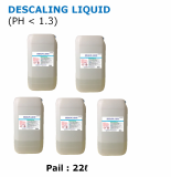DESCALING LIQUID Acidity liquid cleaner for removing rust and scale
