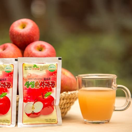 _Beverage_ Sing Sing 100_ Korea Apple Juice _ 50 packs