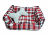 Square versatile mattress for pet