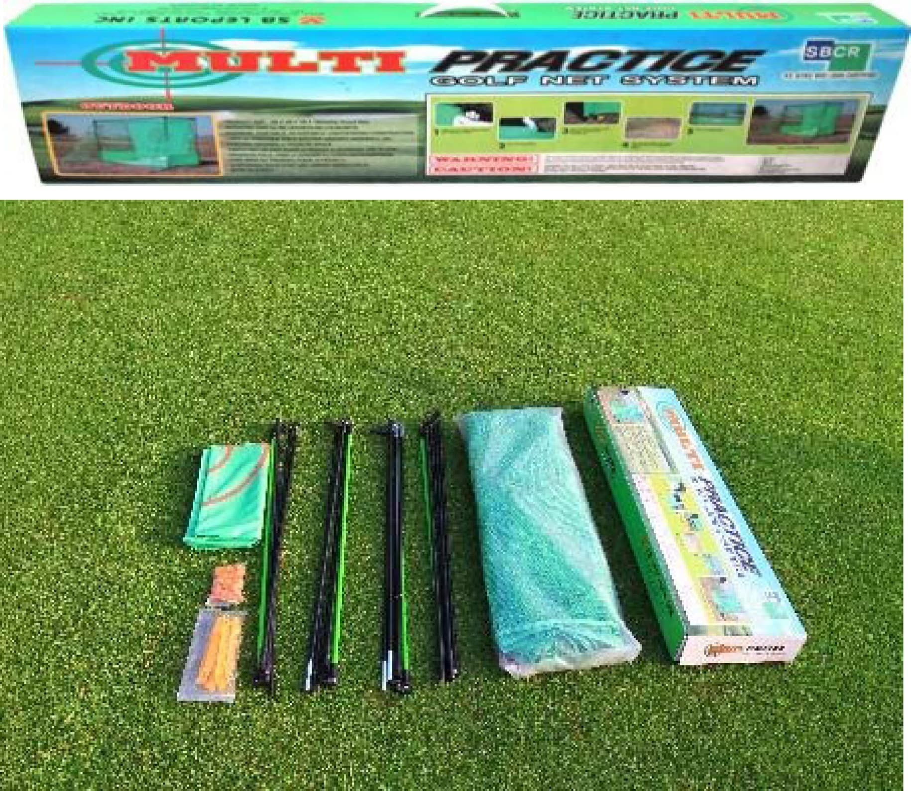 how to make a golf practice net