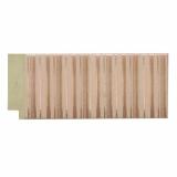 polystyrene picture frame moulding - 540 Pink