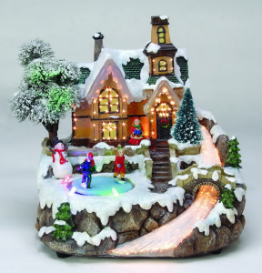 Product Thumnail Image Zoom Fiber Optic And Led Christmas Village