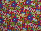 rotary printed fleece fabric