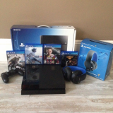 Original Sales For Latest PS4 console _ 5 Free Games _ 2 PAD