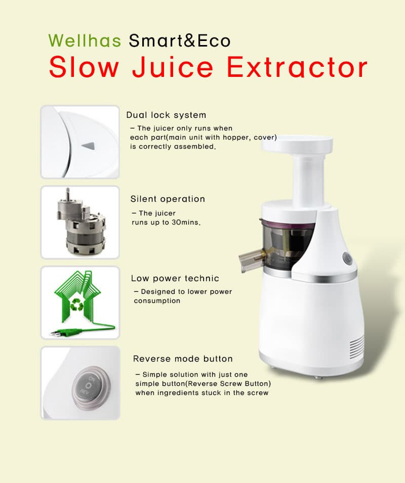 Wellhas Slow juice extractor_Control type_