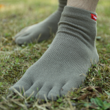 Toe Socks with Coolmax Extreme tag