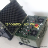 IED jammer Portable high power multi band cellphone jammer for Military and VIP vehicle jamming
