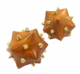 Acupressure tool with brass spikes