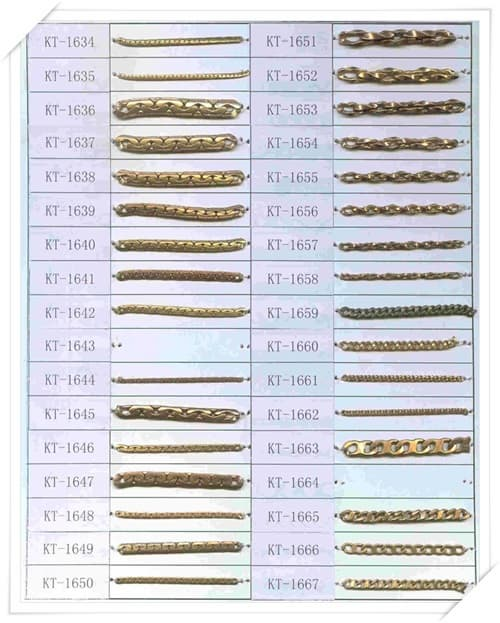 Brass Chain for imitation jewelry-KT1566-