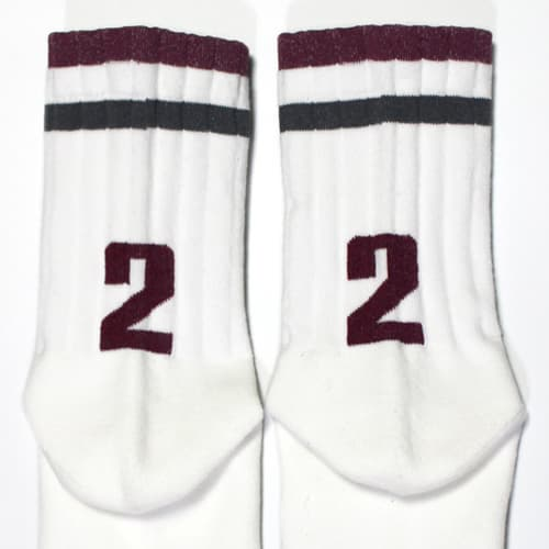 Terry cushioning sole casual sports socks N2