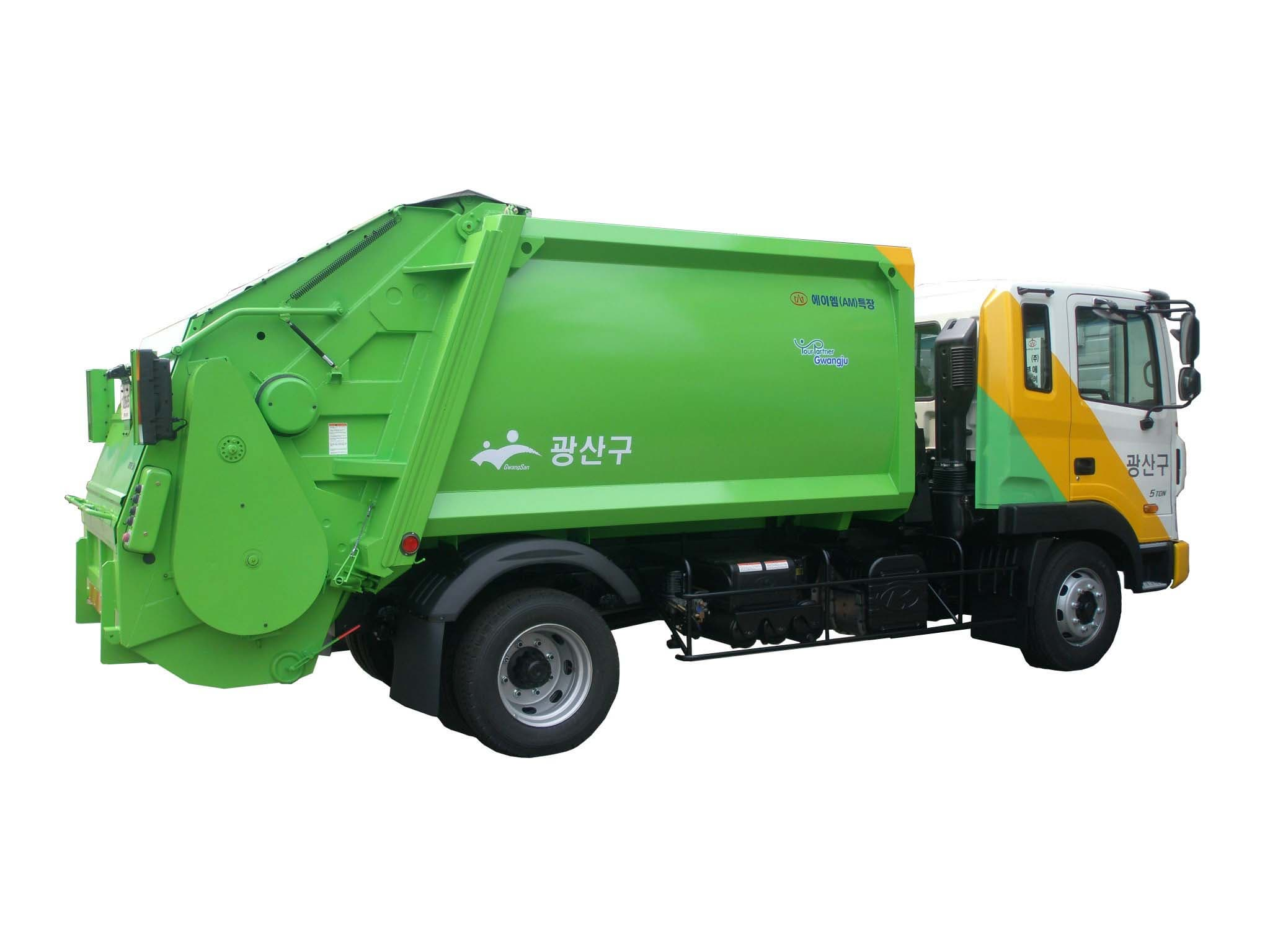 Truck Trader Online >> Garbage Truck (Roll packer) from AM Special Vehicle Co., Ltd. B2B marketplace portal & South ...