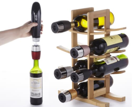 AIO WINE SAVER VACUUM MACHINE AND CAP