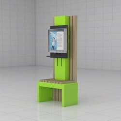 Elevation Display Kiosk