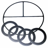Sell Reinforced Graphite Gasket, Graphite Sheet, Flexible Graphite Packing, Graphite Ring