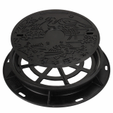 Noise Free Water Proof Safety Manhole cover _600_90