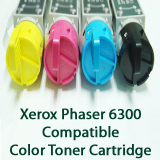 Xerox Phaser 6300 Compatible Color Toner Cartridge