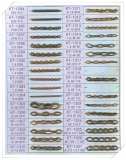 Brass Chain for imitation jewelry-KT1294-