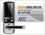 Touchpad Digital Door Lock -DUKE-
