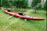 Double Kayak Dark Painted with Red bottom 19-