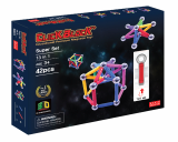 Click Block_ Magnet educational toy X_bar Super Set 42pcs