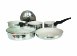 Stainless Steel Ceramic Coated Cookware Set