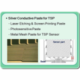Silver Paste _Laser Etching _ Screen Printing _ Metal Mesh _