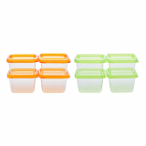 Food container_square_ non_sealed_