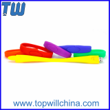 Wristband Silicone Adorable Flash Drive 8GB for Gift