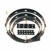 Perforated Selector Steel Tape for Elevator