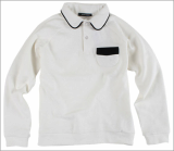 Colored Collar T-shirt[Seoul Mulsan Co., Ltd.