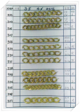 Brass Chain for imitation jewelry -KS496--