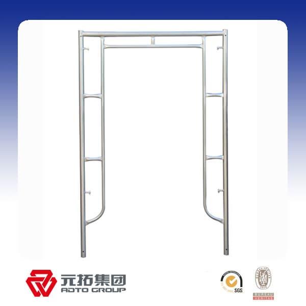 69b22f908f14b7 Korean type galvanized h type main frame scaffolding | tradekorea