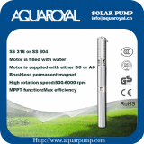 DC Solar Pump_Permanent Magnet_DC brushless__Solar well pump