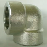 duplex stainless ASTM A182 F65 threaded elbow