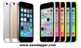Apple iPhone 5S 16GB, 32GB, 64GB White Silver Gold