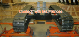 custom design rubber crawler undercarriage