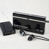 Micro Wireless Audio Transmitter Receiver