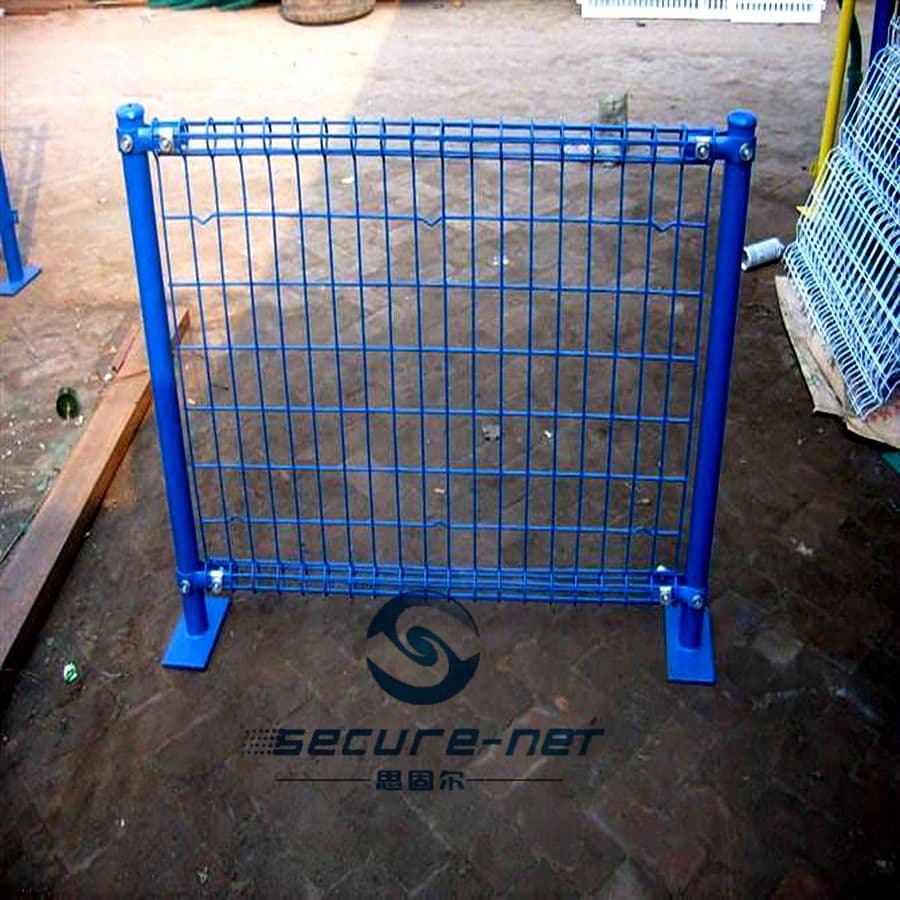 hot dipped galvanized  portable temporary fence