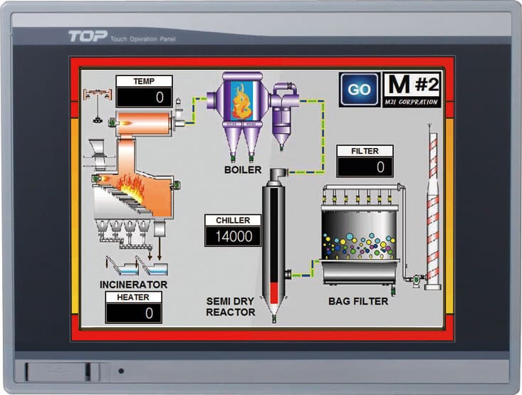 XTOP08TS_SD  HMI  TOUCH PANEL  M2I  TOP