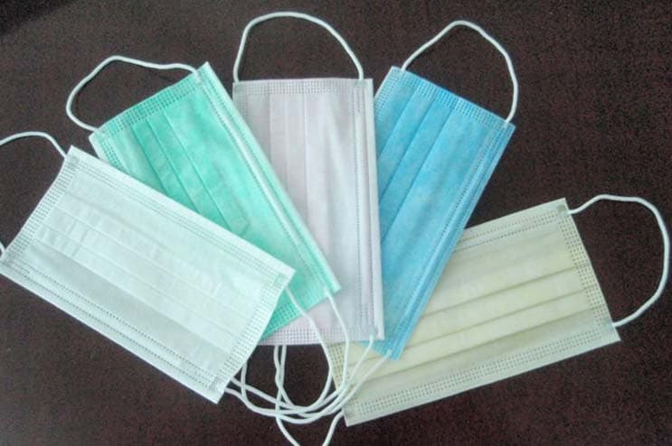 Disposable Non Woven Face Mask Medical Face Mask Lowest