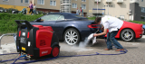 Optima Steam Car Wash Machine