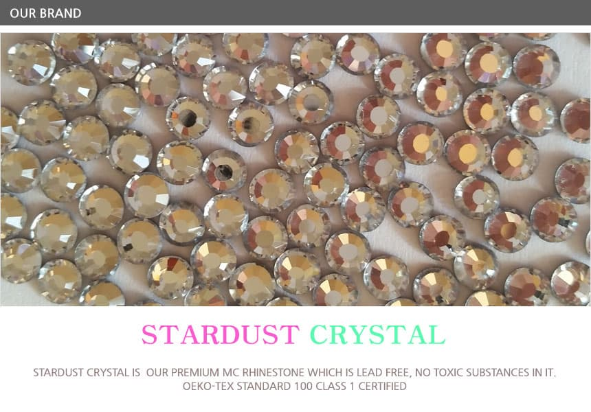 eco firendly Premium MC rhinestone