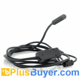 Waterproof USB Inspection Camera (2.25 Meter Cable, 4 LEDs, 640x480)